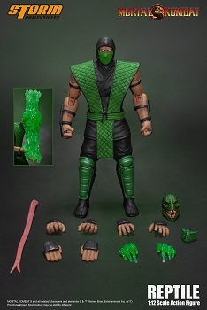 Storm Collectibles Mortal Kombat REPTILE